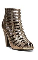 Steve Madden Alexxia Leather Booties - Lyst