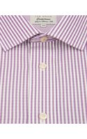 Ted Baker Micro Geo Stripe Shirt - Lyst