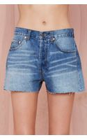 Nasty Gal Fray Around Cutoff Shorts - Lyst