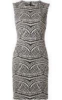 Diane Von Furstenberg Pentra Dress - Lyst