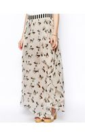 Traffic People Deer Print Maxi Skirt - Lyst