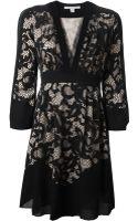 Diane Von Furstenberg Lace Dress - Lyst