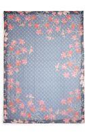 Tory Burch Botanical Garden Silk Scarf - Lyst