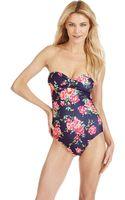 Splendid In Bloom One Piece Swimsuit - Lyst
