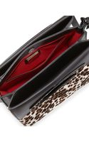 Christian Louboutin Mini Passage Calf Hair Crossbody Bag Leopard - Lyst