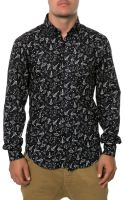 Naked & Famous The Spaceships Ls Buttondown Shirt - Lyst