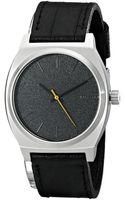Nixon The Time Teller Leather - Lyst