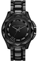 Karl Lagerfeld Unisex Black Ionplated Stainless Steel Bracelet Watch 44mm - Lyst