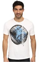 DKNY Short Sleeve Diamond Moon Crew Neck Tee - Lyst