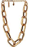 Oscar de la Renta Link Necklace - Lyst