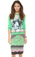 Emma Cook Tiger Sweatshirt - Lyst