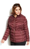 Michael Kors Michael Plus Size Packable Quilted Cinchable Down Puffer Coat - Lyst