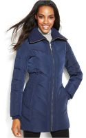 Cole Haan Quilted Down Puffer Coat - Lyst