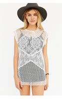 Glamorous Lace Mix Top - Lyst