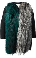 Fendi Boxy Fur Coat - Lyst