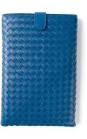 Bottega Veneta Mini Ipad Case - Lyst