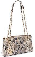 DKNY Snake Skin Shoulder Bag - Lyst