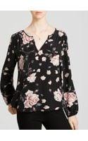 Joie Blouse  Odelette B Floral Silk - Lyst