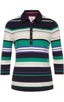 Dash Striped Rugby Top - Lyst