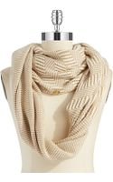 Vince Camuto Infinity Loop Striped Scarf - Lyst