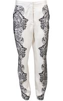 By Malene Birger Silk Trouser - Lyst