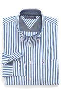 Tommy Hilfiger Custom Fit Pinstripe Shirt - Lyst