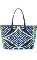 Oryany St Tropez Beadprint Coated Canvas Tote Bag - Lyst