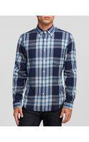 Gant Rugger Windblown Flannel Sport Shirt  Slim Fit - Lyst
