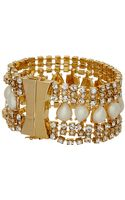 Kate Spade Seaview Pearl Bracelet - Lyst