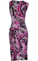 Emilio Pucci Kneelength Dress - Lyst
