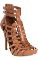 BCBGeneration Gemma Caged Platform Sandals - Lyst