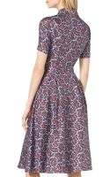 Michael Kors Paisley-print Silk Shirtdress - Lyst