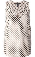 Marc By Marc Jacobs Printed Top - Lyst