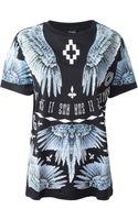 Marcelo Burlon County Of Milan Wings Print T-shirt - Lyst
