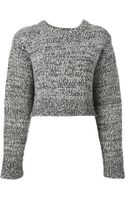 Proenza Schouler Cropped Sweater - Lyst