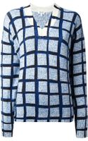 Kenzo Squares Sweater - Lyst