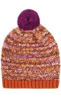 Missoni Knit Pompom Hat - Lyst