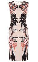 Roberto Cavalli Printed Shift Dress - Lyst