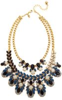 Kate Spade Steamer Glow Statement Necklace - Blue Multi - Lyst