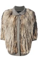 Liska Raccoon Fur Jacket - Lyst