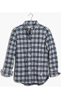 Madewell Penfield® Kemsey Plaid Shirtjacket - Lyst