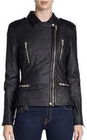 W118 By Walter Baker Angelo Faux Leather Moto Jacket - Lyst