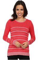 Calvin Klein Marled Stripe Sweater - Lyst