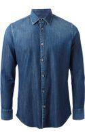 Jacob Cohen Denim Shirt - Lyst