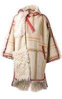 Chloé Reversible Oversized Fur Coat - Lyst