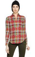 Polo Ralph Lauren Tartan Cotton Flannel Shirt - Lyst