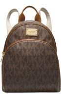 Michael Kors Michael Signature Small Backpack - Lyst