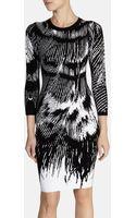 Karen Millen Signature Embroidered Dress - Lyst