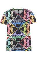 Versus  Printed Jersey Tshirt - Lyst