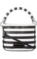 Marc By Marc Jacobs Novety Hoctor Stripe Shoulder Bag - Lyst
